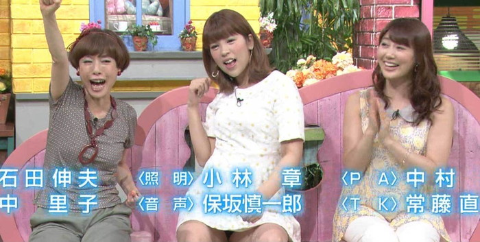 【放送事故エロ画像】ガチでお茶の間に流れたテレビでのエロハプニング!www 11