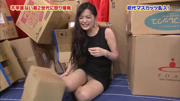 【放送事故エロ画像】ガチでお茶の間に流れたテレビでのエロハプニング!www 26